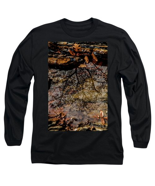 Long Sleeve T-Shirt featuring the photograph Tree's Reflection by Iris Greenwell