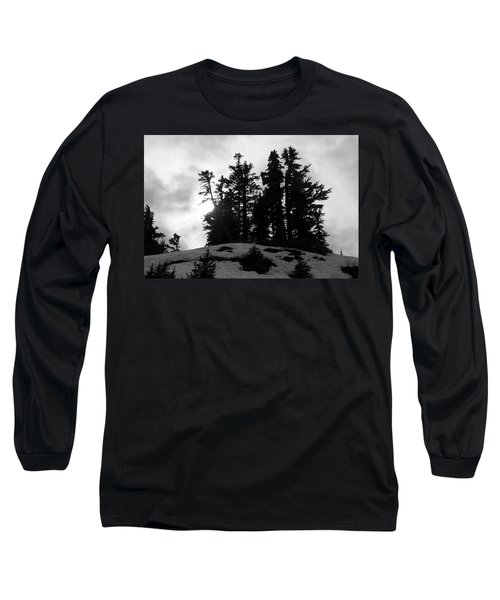 Trees Silhouettes Long Sleeve T-Shirt