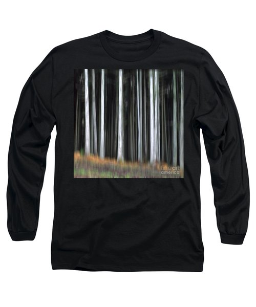 Trees Trunks Long Sleeve T-Shirt