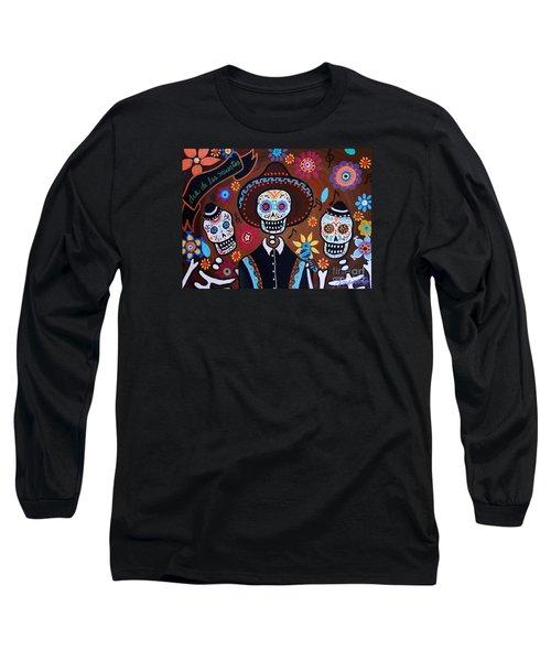 Tres Amigos Mariachi Long Sleeve T-Shirt