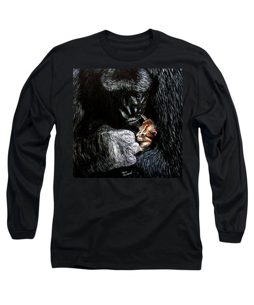 Tribute To Koko Long Sleeve T-Shirt by Stan Hamilton