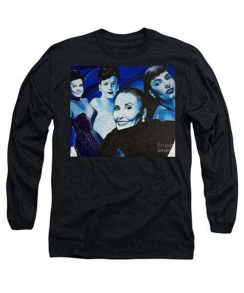 Tribute To Lena Horne Long Sleeve T-Shirt