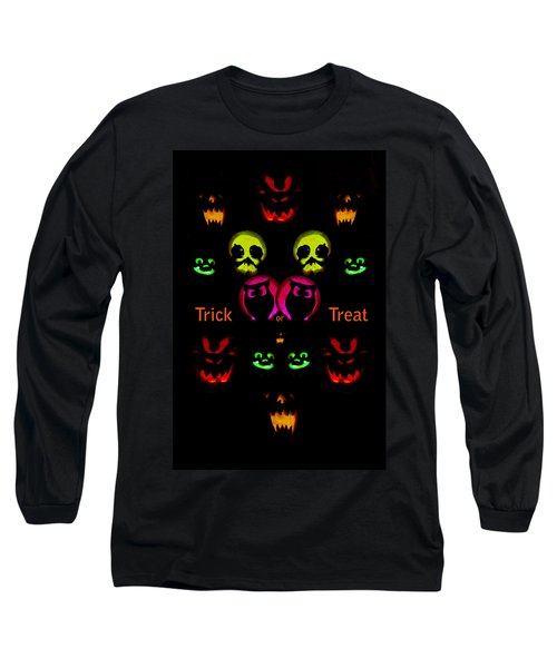 Long Sleeve T-Shirt featuring the photograph Trick Or Treat by Greg Norrell