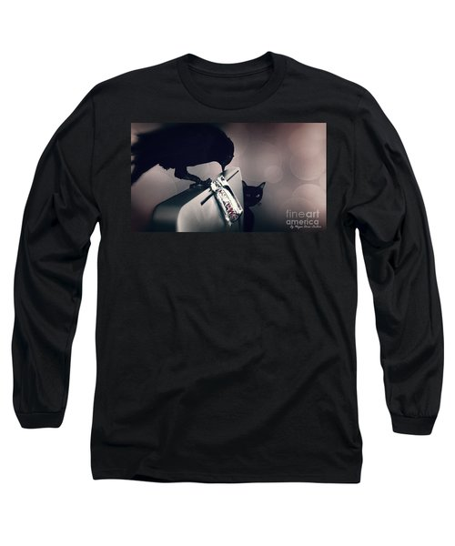 Long Sleeve T-Shirt featuring the photograph Trick Or Treat by Megan Dirsa-DuBois