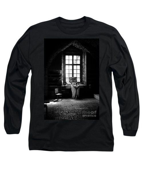 Tridentine Mass In An Ancient Chapel In The Old Dominican Monastery In Tallinn Long Sleeve T-Shirt