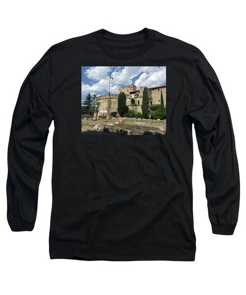 Trieste Castle San Giusto Italy Long Sleeve T-Shirt