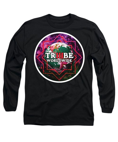 Triiibe Worldwide By Lorcan Long Sleeve T-Shirt