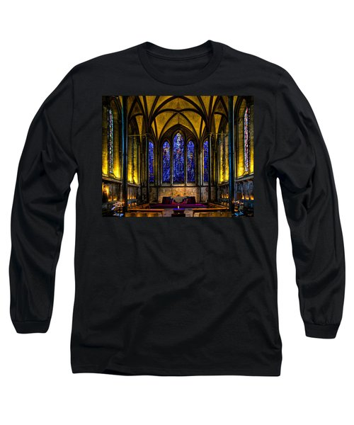 Trinity Chapel Salisbury Cathedral Long Sleeve T-Shirt