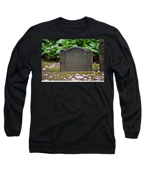 Trinity Church Tombstone Long Sleeve T-Shirt