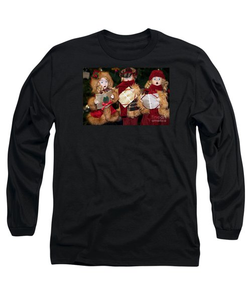 Trio Of Carolers Long Sleeve T-Shirt