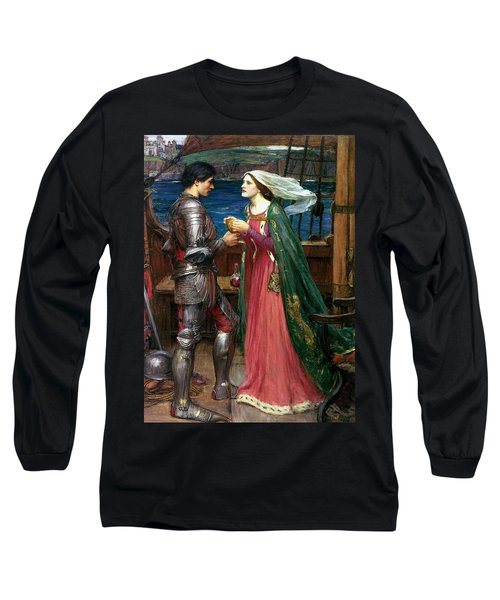 Tristan And Isolde With The Potion Long Sleeve T-Shirt