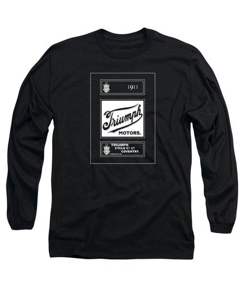Triumph 1911 Long Sleeve T-Shirt by Mark Rogan