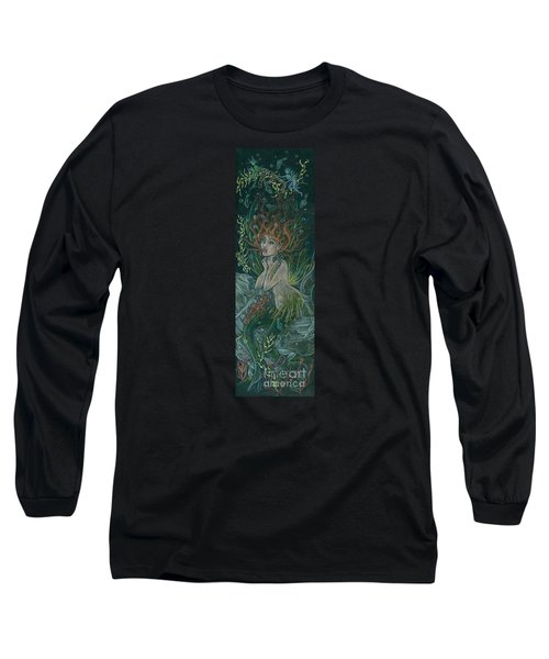 Long Sleeve T-Shirt featuring the drawing Triumph Escapes Maximilian's Arch by Dawn Fairies