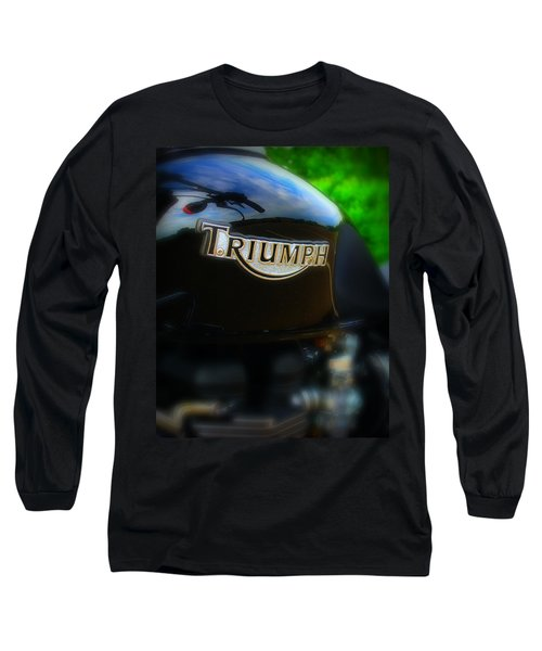 Triumph Long Sleeve T-Shirt by Perry Webster
