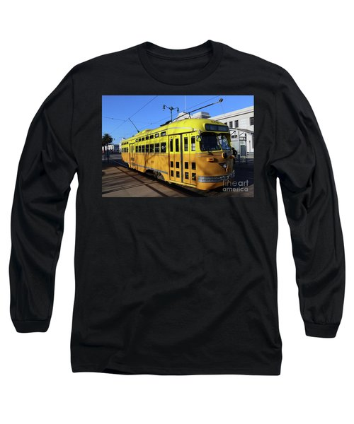 Long Sleeve T-Shirt featuring the photograph Trolley Number 1052 by Steven Spak