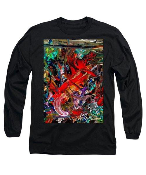 Tropical Cat Atack Long Sleeve T-Shirt