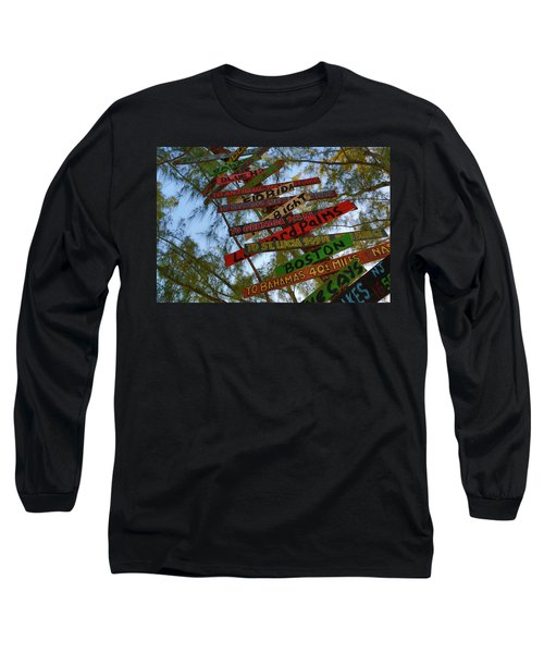 Tropical Directions Long Sleeve T-Shirt