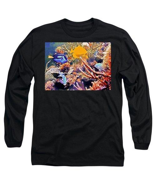 Tropical Fantasy Long Sleeve T-Shirt