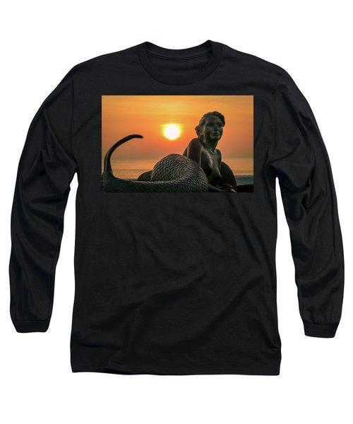 Tropical Mermaid Long Sleeve T-Shirt
