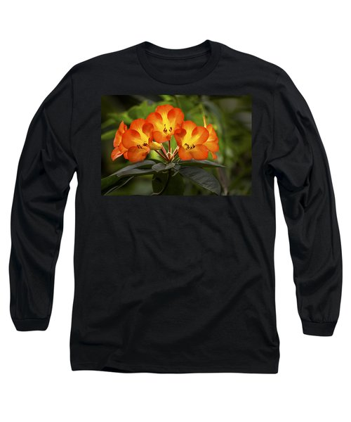 Tropical Rhododendron Long Sleeve T-Shirt