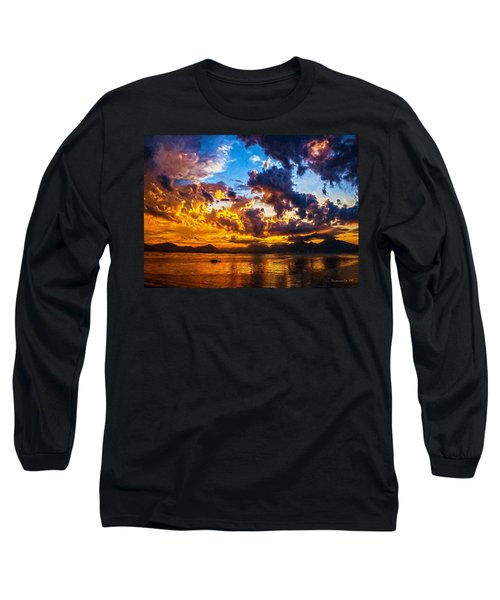Tropical Twilight I Long Sleeve T-Shirt