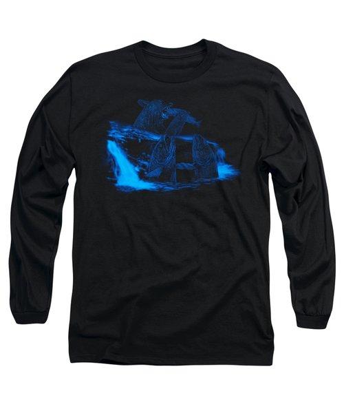 Trouble Upstream Long Sleeve T-Shirt