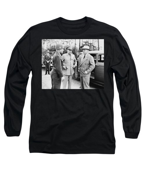 Truman Eisenhower And Hickey  Long Sleeve T-Shirt