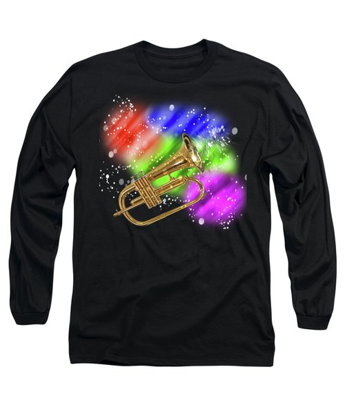 Trumpet Celebration Long Sleeve T-Shirt