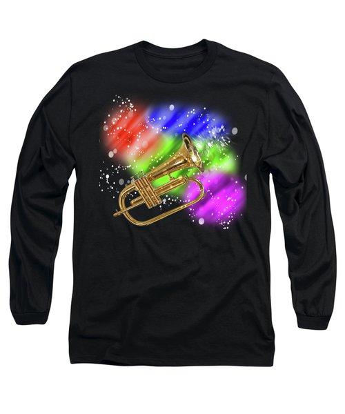 Trumpet Celebration Long Sleeve T-Shirt