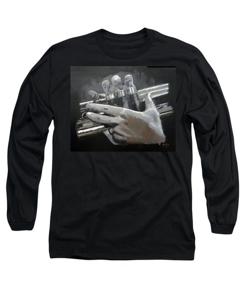 Trumpet Hands Long Sleeve T-Shirt
