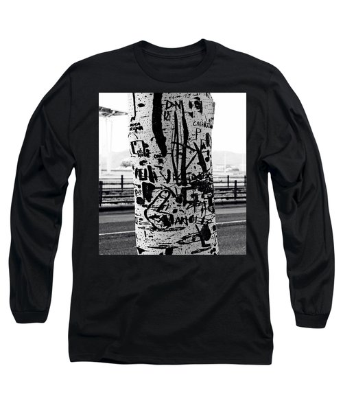 Long Sleeve T-Shirt featuring the photograph Trunk Art Lisbon by Lorraine Devon Wilke