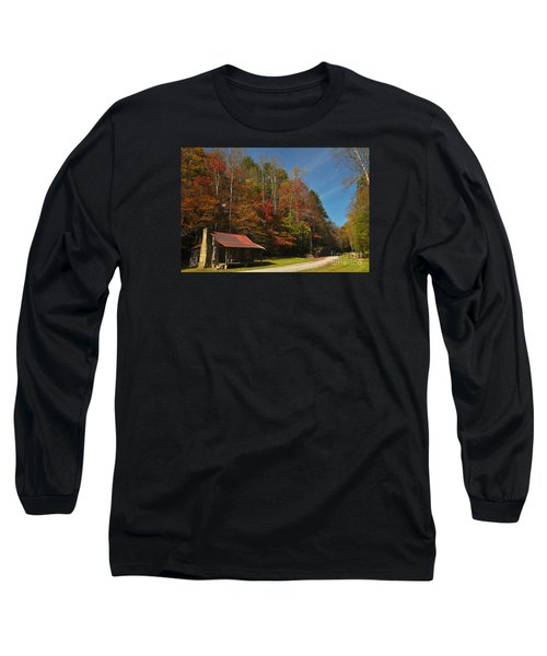 Tucked Away In Fall Long Sleeve T-Shirt