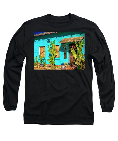 Tucson Blue Long Sleeve T-Shirt