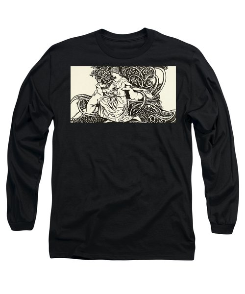 Tuiren With Bran And Sceolan Long Sleeve T-Shirt