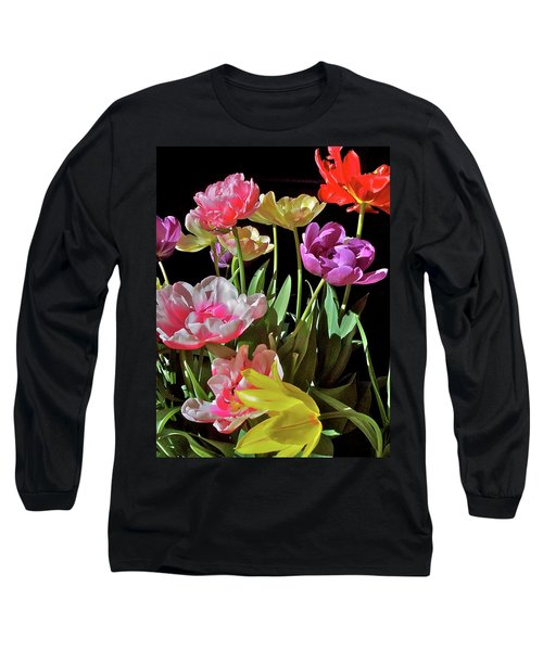 Long Sleeve T-Shirt featuring the photograph Tulip 8 by Pamela Cooper