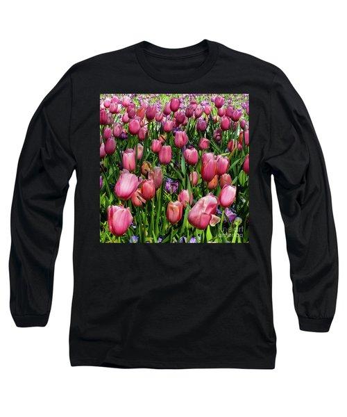 Tulip Flowers  Long Sleeve T-Shirt