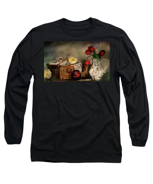 Basket And All Long Sleeve T-Shirt