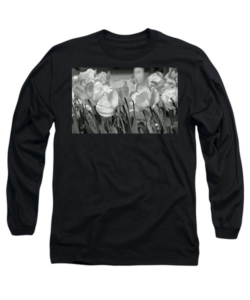 Tulips Long Sleeve T-Shirt by JoAnn Lense