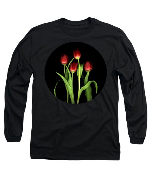 Tulips Like Lips Long Sleeve T-Shirt