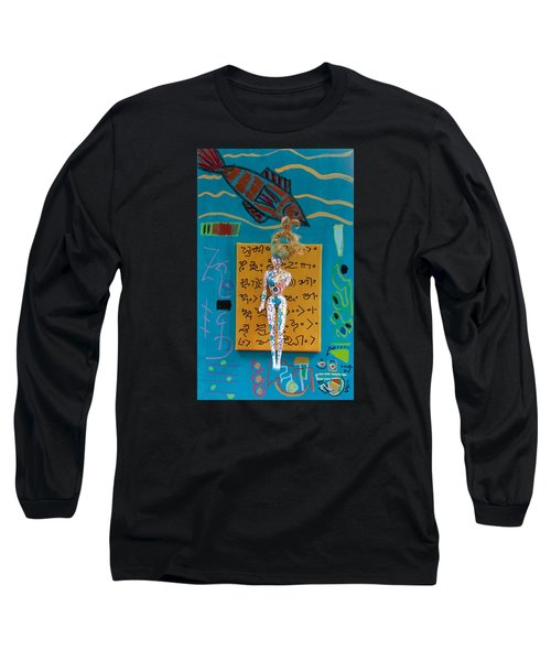 Turmeric Herbal Tincture Long Sleeve T-Shirt by Clarity Artists