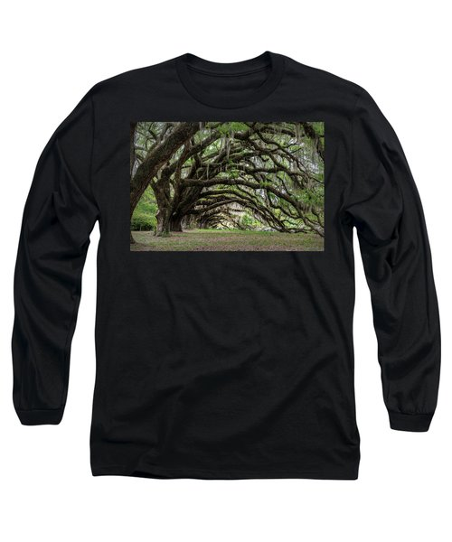 Long Sleeve T-Shirt featuring the photograph Tunnel In Charleston by Jon Glaser