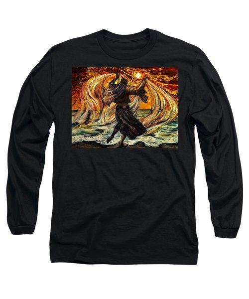 Turkish Sunset Long Sleeve T-Shirt