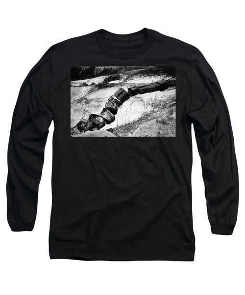 Long Sleeve T-Shirt featuring the photograph Turned To Stone by Paul W Faust - Impressions of Light
