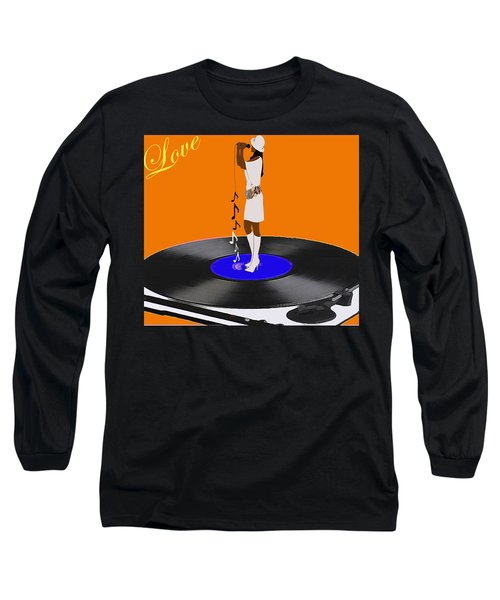 Turntable Love Long Sleeve T-Shirt