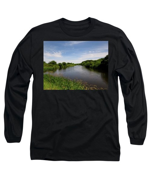 Long Sleeve T-Shirt featuring the photograph Turtle Creek by Kimberly Mackowski