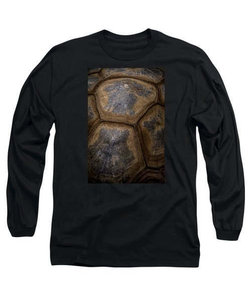 Turtle Shell Long Sleeve T-Shirt by Racheal  Christian