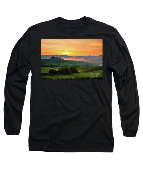 Tuscan Dream II Long Sleeve T-Shirt by Yuri Santin