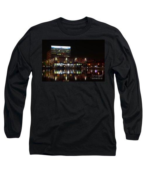 Tv Center Long Sleeve T-Shirt
