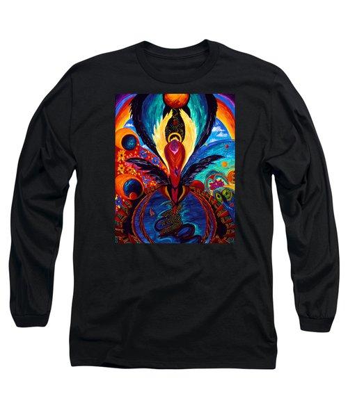 Captive Angel Long Sleeve T-Shirt by Marina Petro