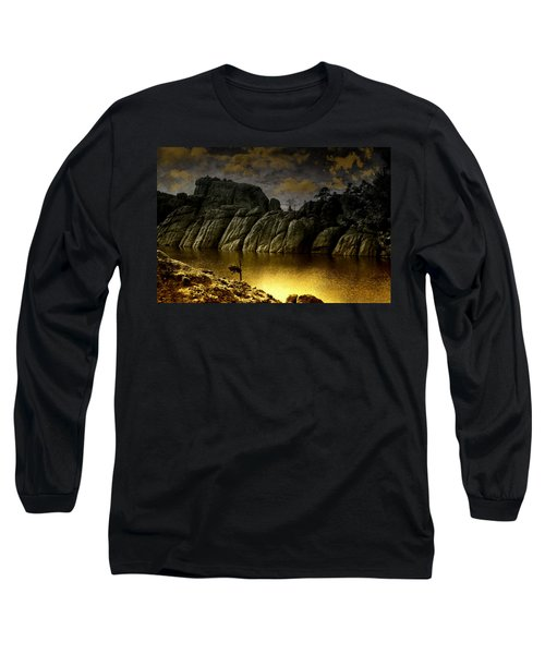 Twilight At The Lake Long Sleeve T-Shirt